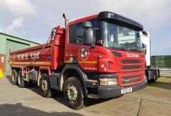 Scania P400 8x4 Tipper