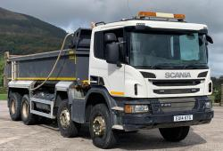 Scania P410 8x4 Tipper