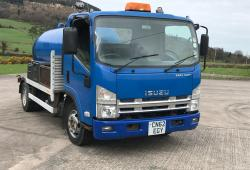 Isuzu Easy Shift Vacuum Tanker