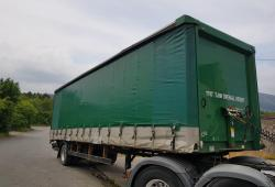 Lawrence David Curtain Side Trailer