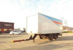 DON BUR Drawbar Box Trailer