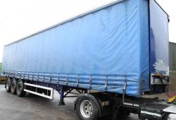 M&G Trailers Curtain