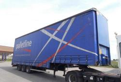 Montracon Curtainside Trailer