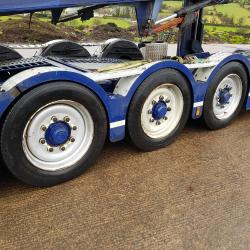 Scania P420 11 Car Transporter P420 Drawbar outfit