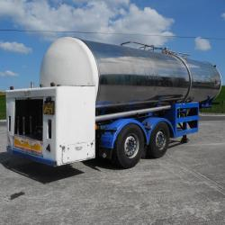 TCL Tank Trailer Stainless Steel