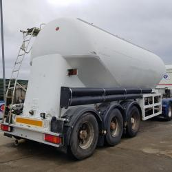 Feldbinder Powder Tank