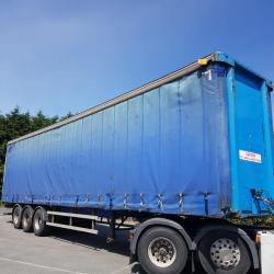 SDC Curtain Side Trailer