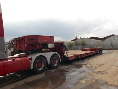 Nooteboom 3 Axle Extendable Low Loader